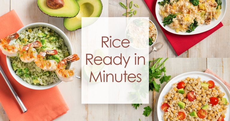 rice in minutes
